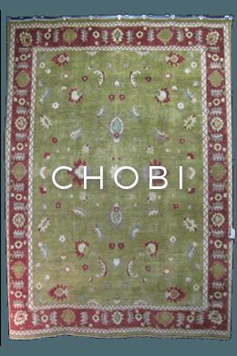Traditional Chobi rug