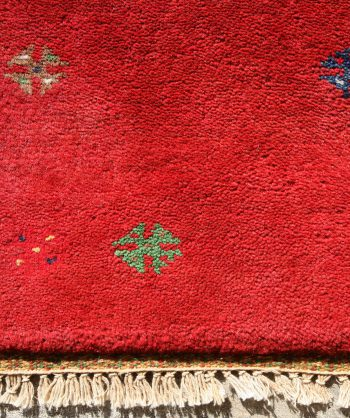 Gabbeh Carpet #17-062