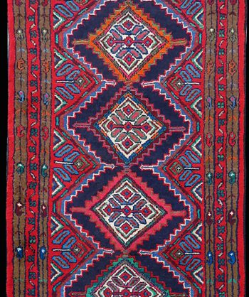 Antique Heriz Carpet #18-018