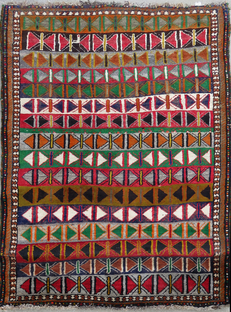 Antique Gabbeh Carpet #4070