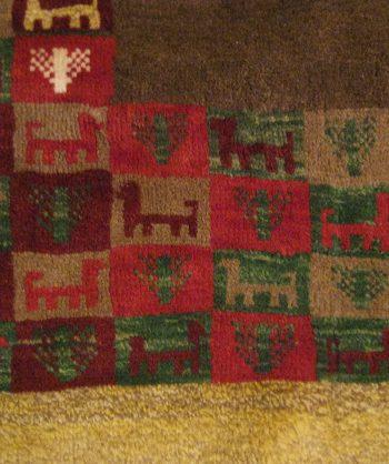 Gabbeh Carpet  #5019