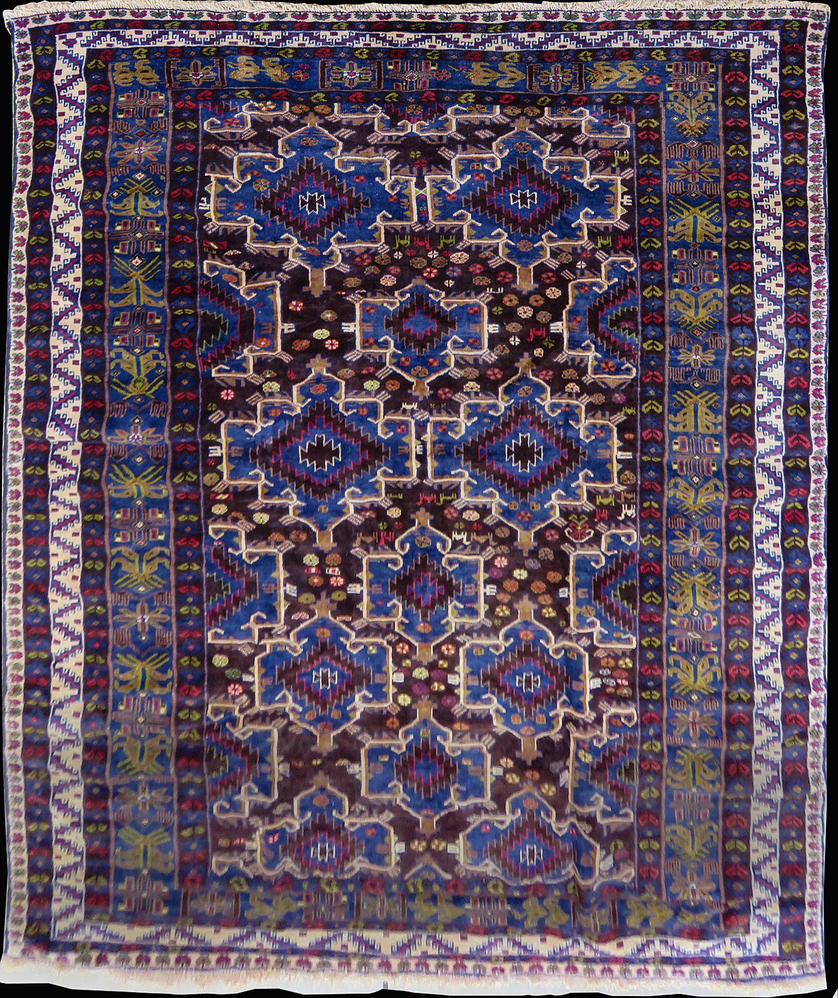 Antique Gabbeh Rug #4255