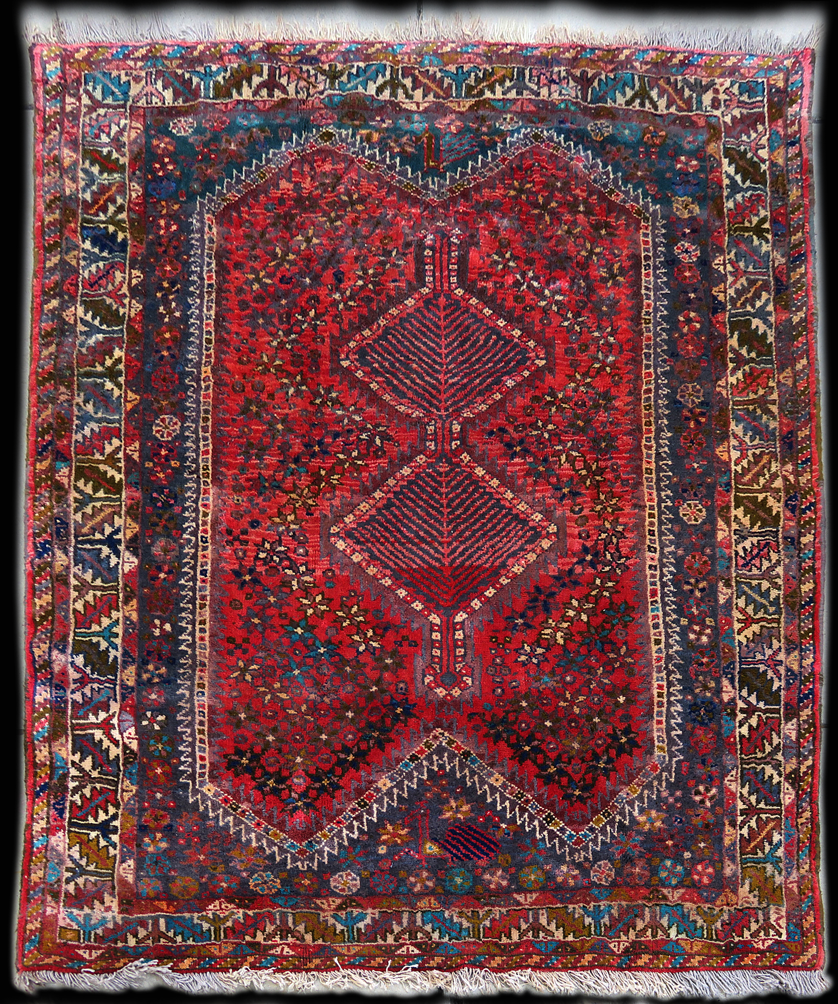 Persian Wool Rug Antique