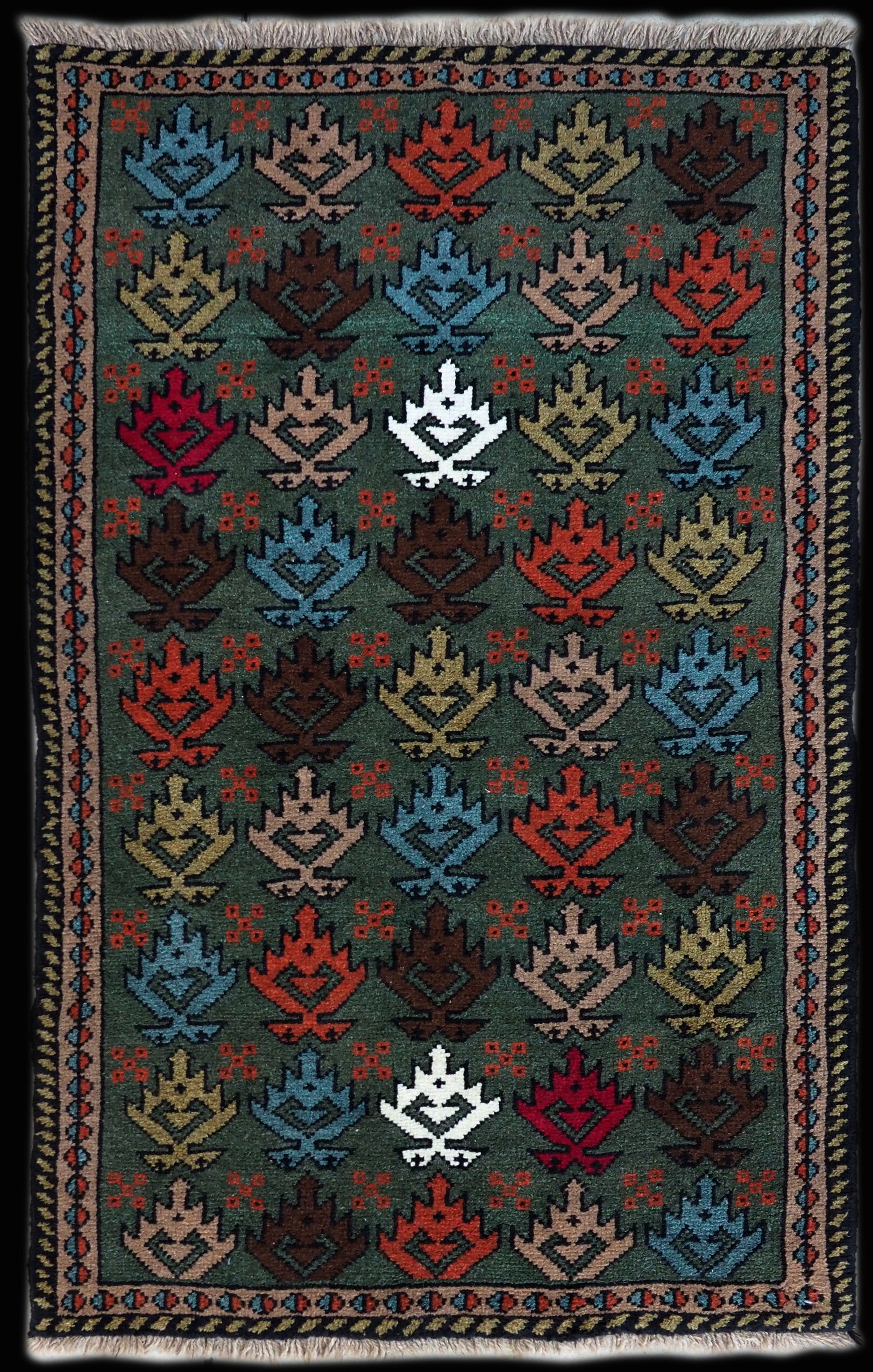 Serapi Heriz Carpet 18-021