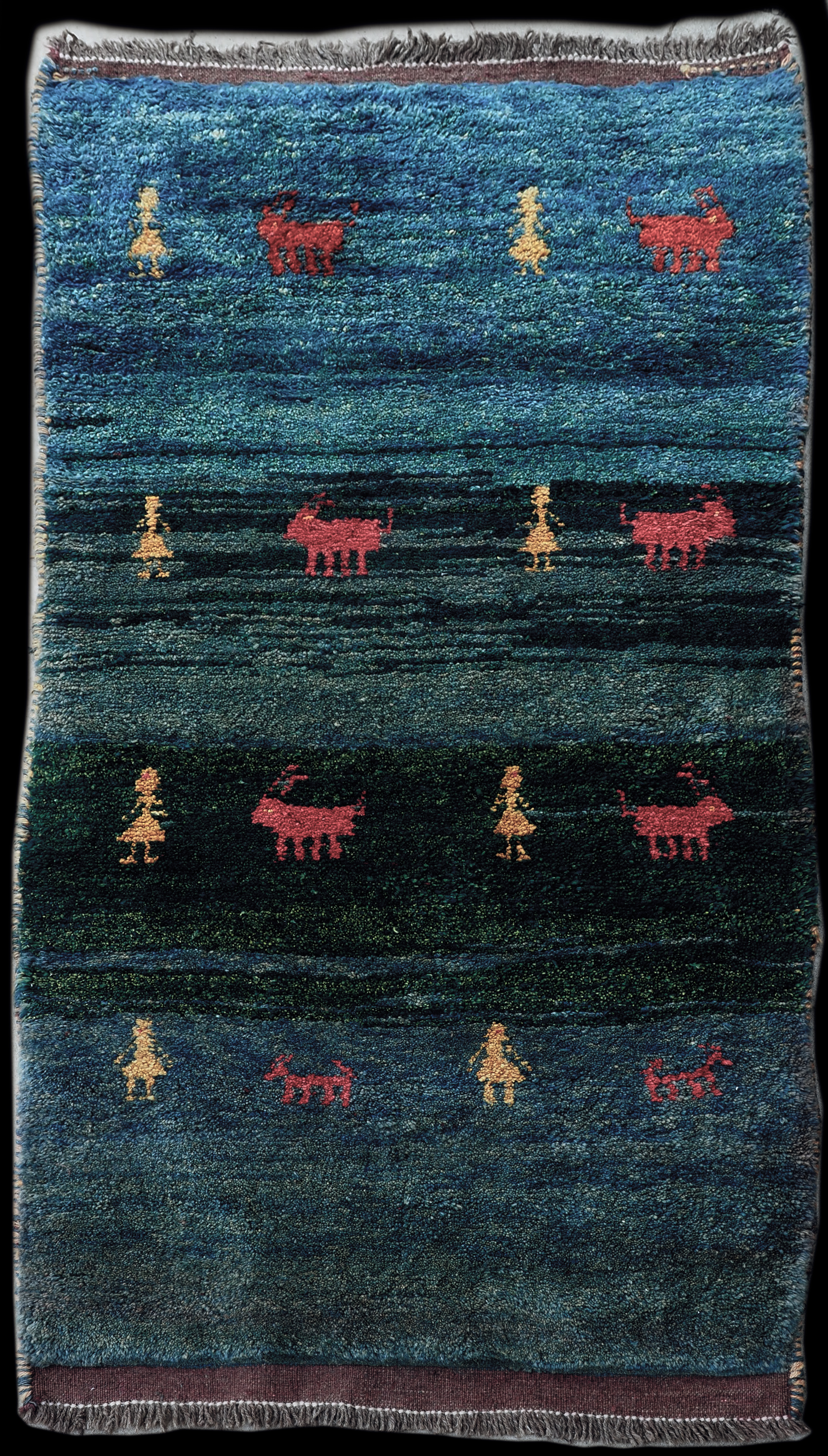 Antique Gabbeh Carpet 7021