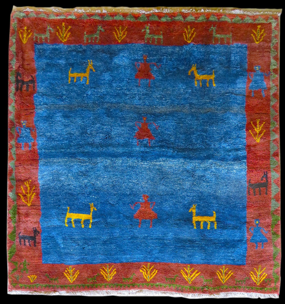 rugs chairish gabbeh indian x product rug