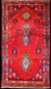 Hand made Tribal Gabbeh Rug