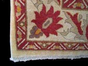 Wool hand-made rug