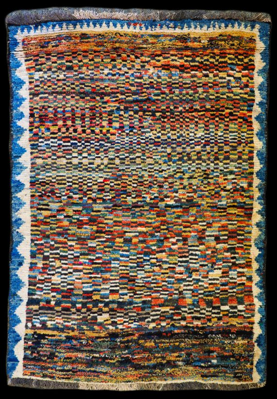 Hand-made wool carpet