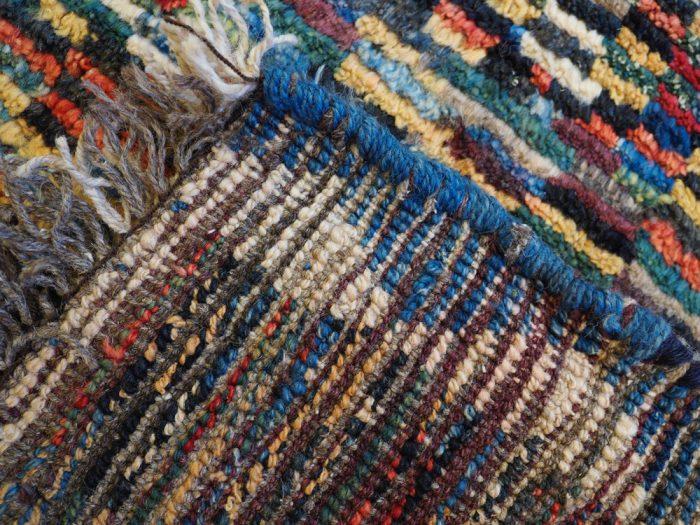 Hand-made wool carpet