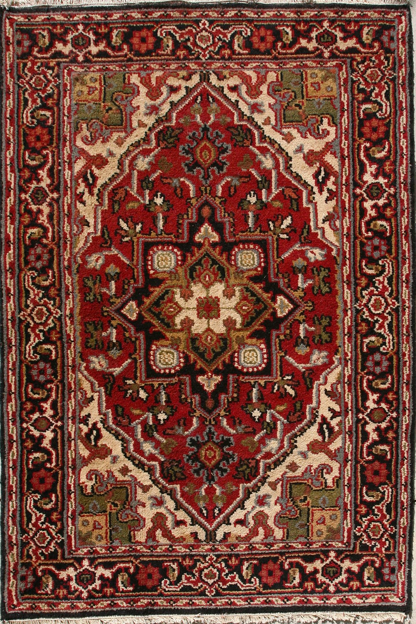Persian Heriz Carpet #17-061