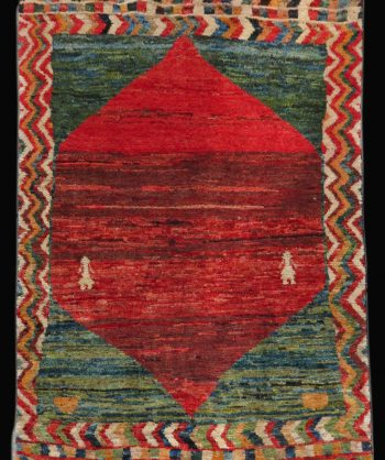 Antique Gabbeh Carpet (3163)
