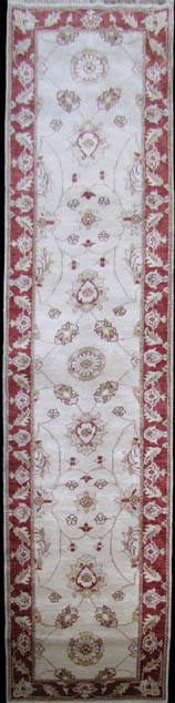 Hand-knotted wool rug