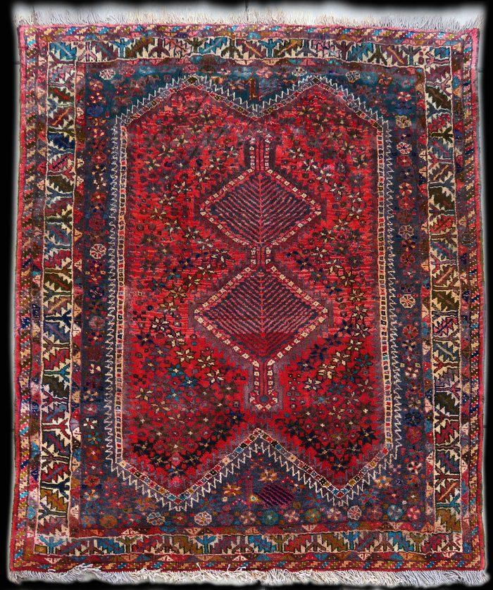 Persian Wool Rug Antique