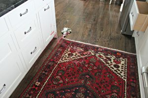 Persian rug stain removal