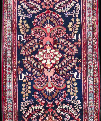 Antique Tribal Carpet #M-1220  3'3″ X 9'6″