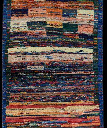 Woolen Gabbeh Rug (#3076)