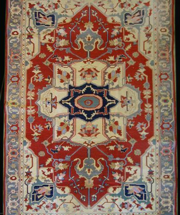 Antique Uzbek Sumak Carpet 5559