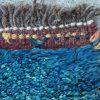 Thick Wool Rug Nomads origin Iran