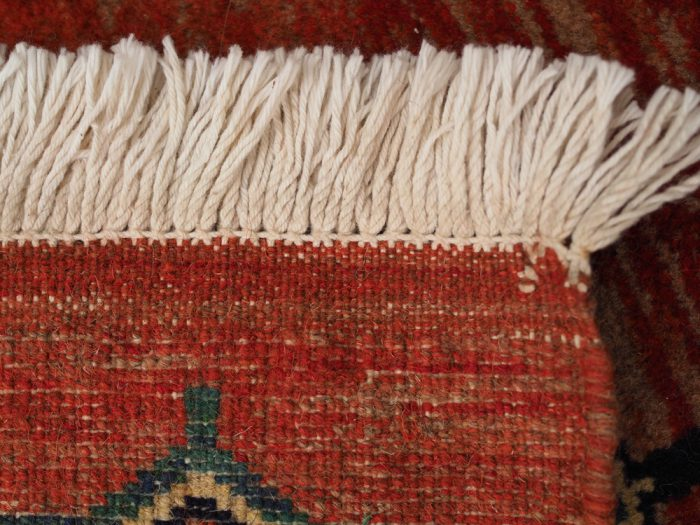 Beatutiful Antique rug natural dyes