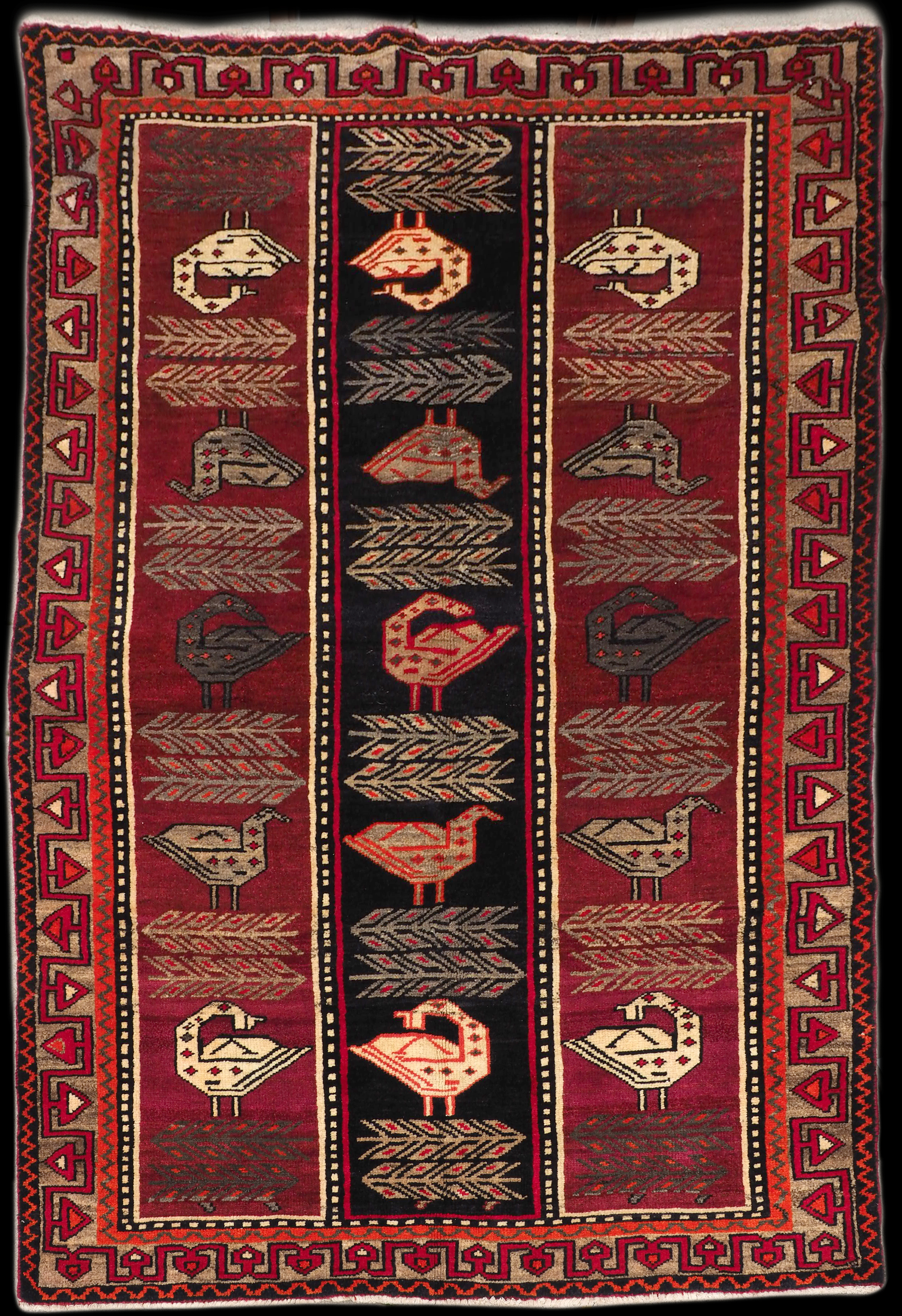 Authentic Persian Rug #18-072