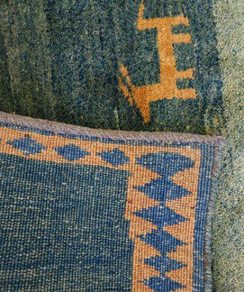 Gabbeh Carpet (18-086)