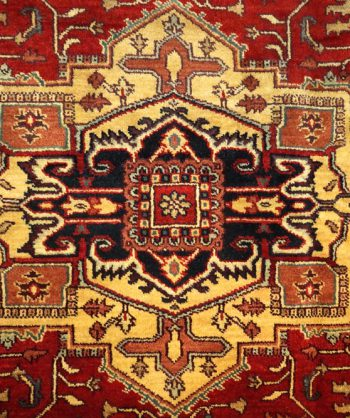 Persian Heriz Rug #18-003