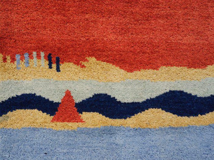Pakistane Gabbeh Wool Runner