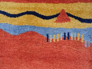 Pakistane Gabbeh Wool Runner