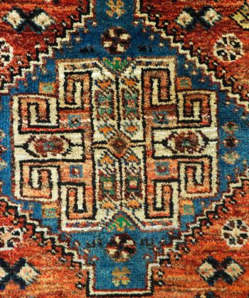 Beautiful Antique Qashqai Persian Carpet