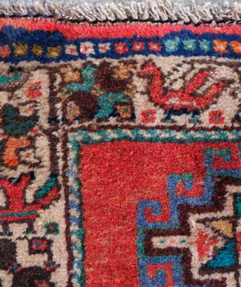 Antique Qashqai Hunting Rug #19-002