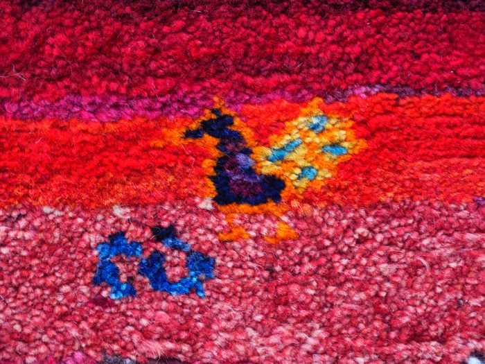 Hand-Made Hand-Knotted Natural Dyed Rug
