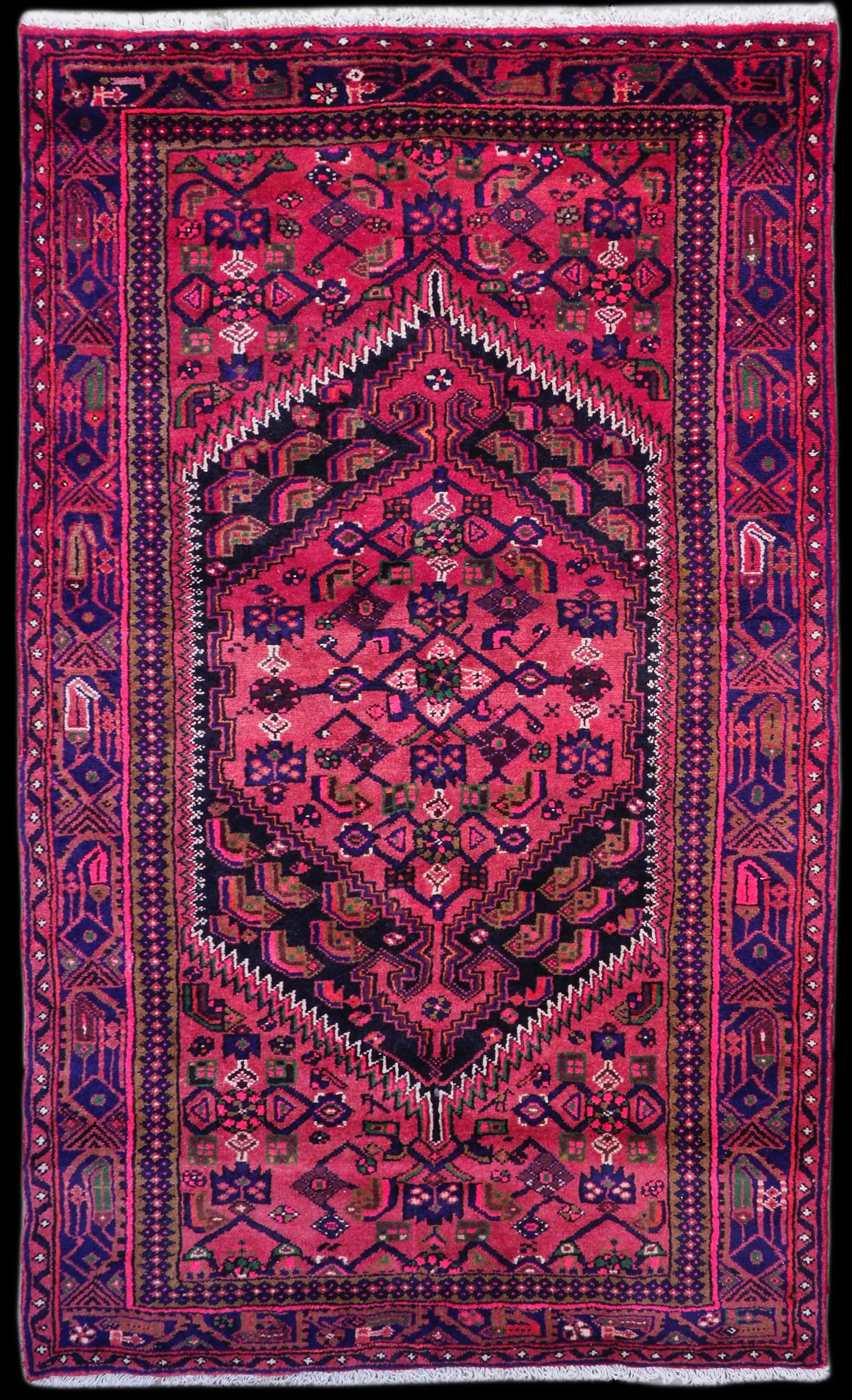 Hand-made Wool Rug