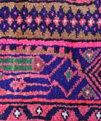 Vintage Zangan Persian Rug #4297              4'4″ X 6'9″