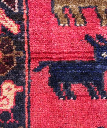 1931 Antique Persian Hunting Rug 19-011
