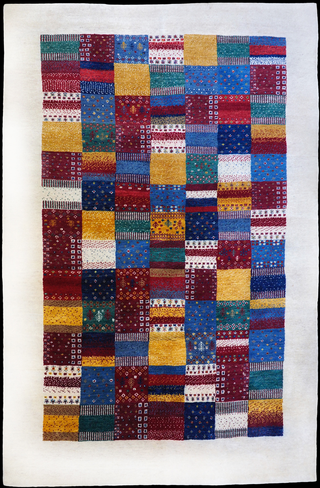 Hand-made Wool Gabbeh Rug from Nepal