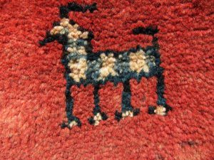 Hand-Made Wool Gabbeh Nomad Rug