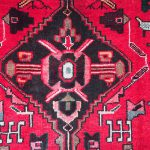 Antique Persian Wool Tribal Carpet