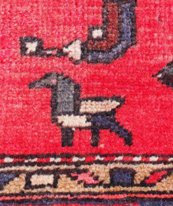 Antique Tribal Persian Rug  19-041
