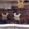 Tribal Gabbeh wool rug