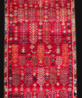 Tribal Koliai Persian Wool Rug
