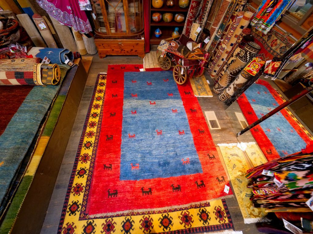 Truckee Mountain Rug Showroom Floor