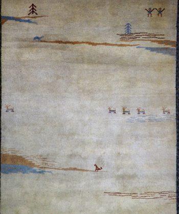 Nepali Gabbeh Carpet # 19-033