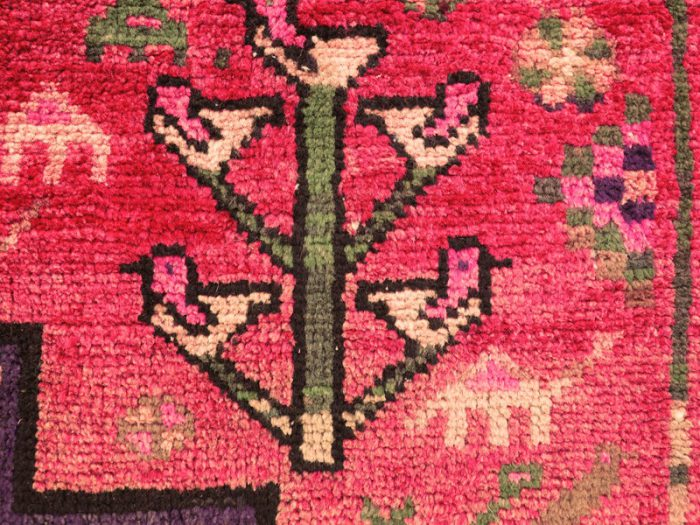 Antique Nomad Rug Tree of Life