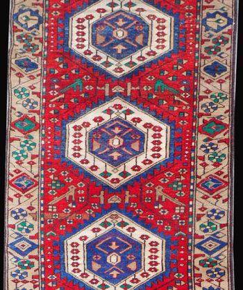 Kazak Serapi Runner Rug