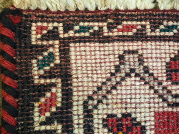 Hand-knotted Persian Carpet