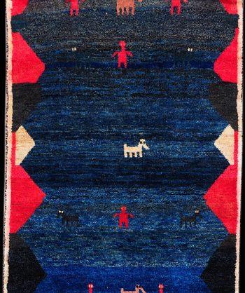 Persian Gabbeh Rug #5018
