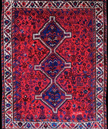 Antique Serapi Heriz Rug