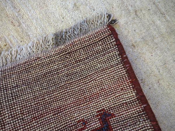 Thick Antique Gabbeh Rug