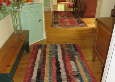 colorful hand-knotted Persian carpet